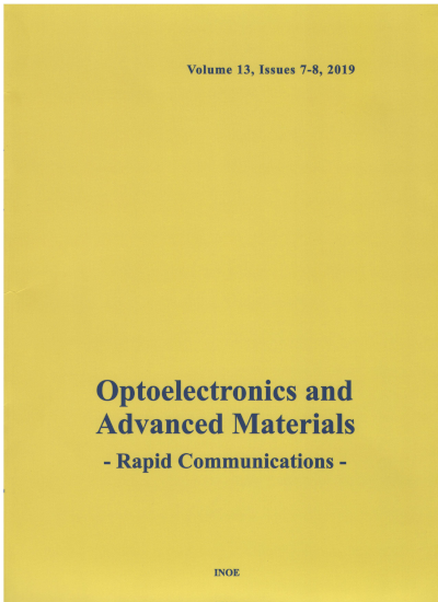 Optoelectronics and Advanced Materials - Rapid Communications